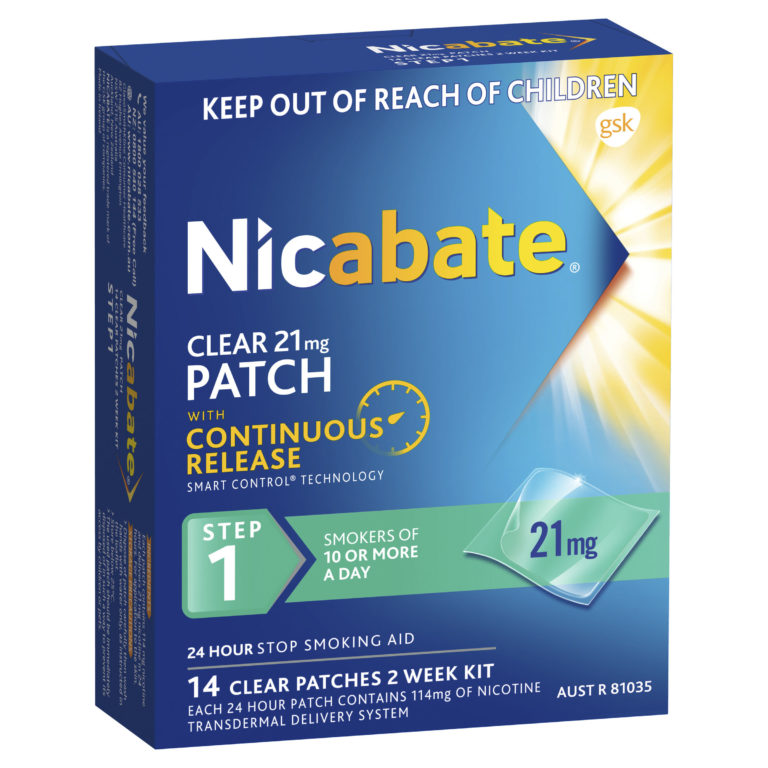 Buy Nicabate CQ Clear 21mg Patches 7   Wizard Pharmacy