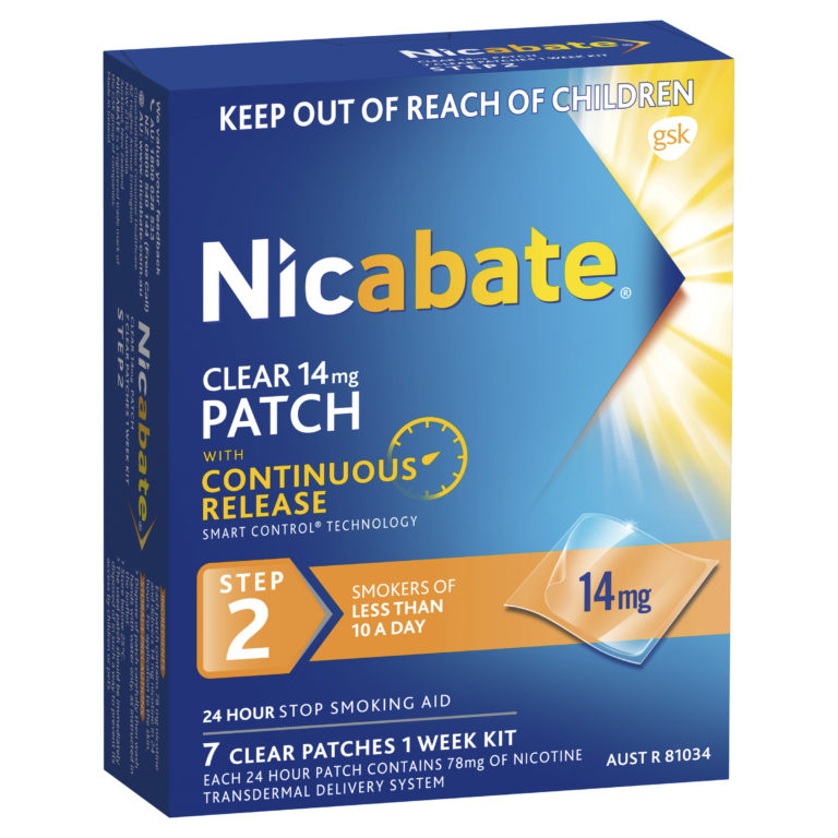 Buy Nicabate Patches Clear 21mg 7 Days Online - Chemist